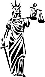piccolo simbolo de la justicia