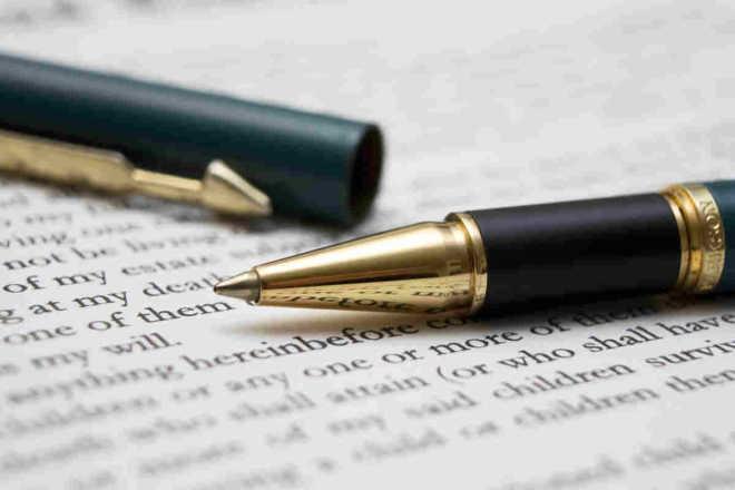 atto di impugnazione e penna