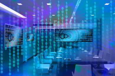 sala riunioni del futuro