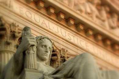 statua palazzo corte di cassazione
