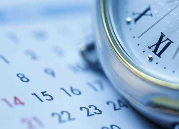 orologio e calendario