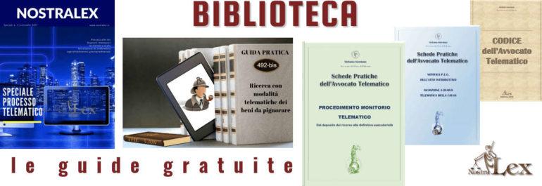 biblioteca cinque guide gratuite telematiche